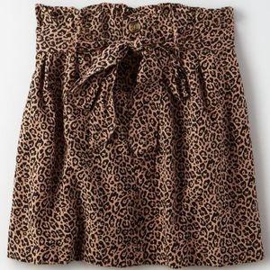 American eagle cheetah skirt